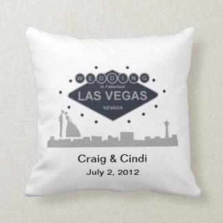 Wedding In Fabulous Las Vegas Pillow