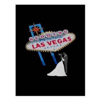 WEDDING In Fabulous Las Vegas Postcard