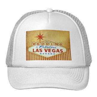 Wedding in Fabulous Las Vegas - Vintage Stripes Hats