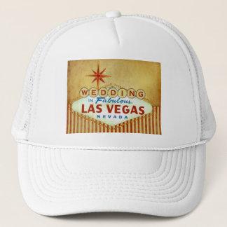 Wedding in Fabulous Las Vegas - Vintage Stripes Trucker Hat