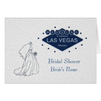 "Wedding in Las Vegas ""Bridal Shower"" Card"