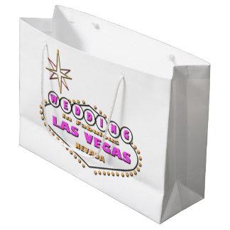 WEDDING In Las Vegas for bride & groom Gift Bag