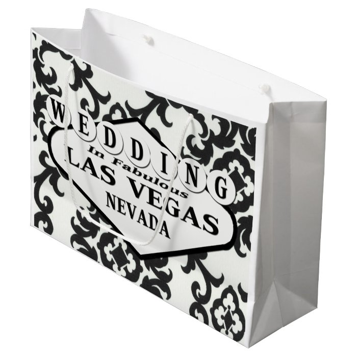 Vegas Wedding Gift Bag Ideas : WEDDING In Las Vegas Gift Bag Zazzle
