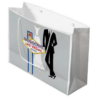 Wedding in Las Vegas Gift Bag - Large, Glossy Large Gift Bag