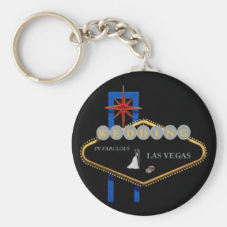 \Wedding in Las Vegas Keychain Sam