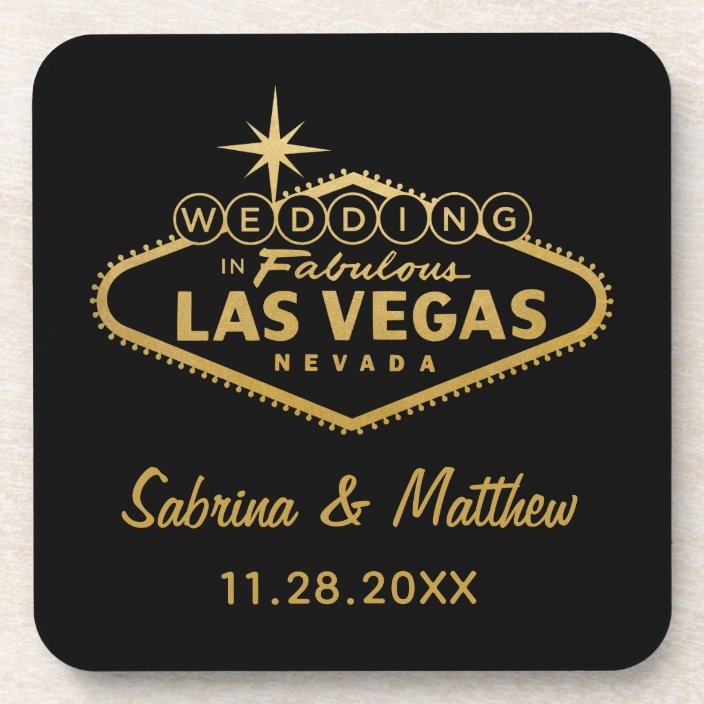 Las Vegas wedding gift sign customised After party