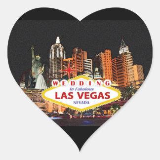 Wedding In Las Vegas Sticker