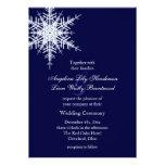Wedding in Winter Invitation