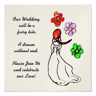 Wedding Informal Art Deco Invitation