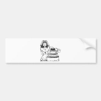 Wedding Invitaion 7 Bumper Sticker