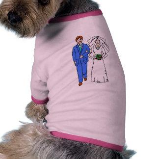Wedding Invitation 30 Pet T-shirt