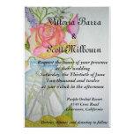 "Wedding Invitation #4 5"" X 7"" Invitation Card"