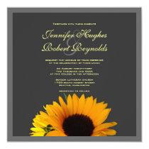"""Wedding Invitation 5.25"""" Square Invitation Card"""