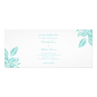Wedding Invitation A Leaftime III wt