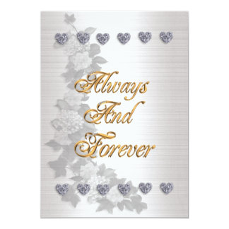 Wedding invitation Always and Forever