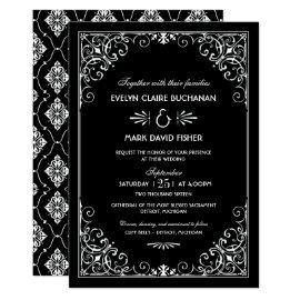 Wedding Invitation | Art Deco Style