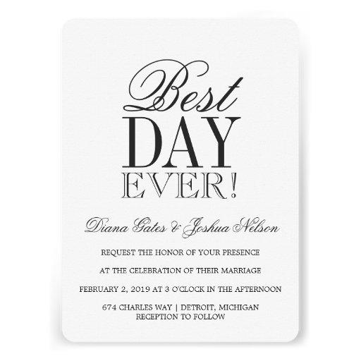 Standard Size Wedding Invitation as amazing invitation sample