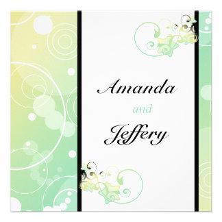 Wedding Invitation Bubble Star Fairy Tale