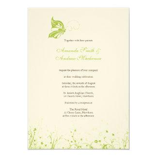 Wedding Invitation ~ Butterfly Garden 10