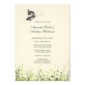 Wedding Invitation ~ Butterfly Garden 2
