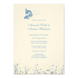 Wedding Invitation ~ Butterfly Garden 4