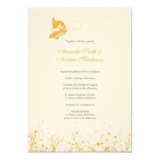 Wedding Invitation ~ Butterfly Garden 8