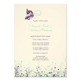 Wedding Invitation ~ Butterfly Garden 9