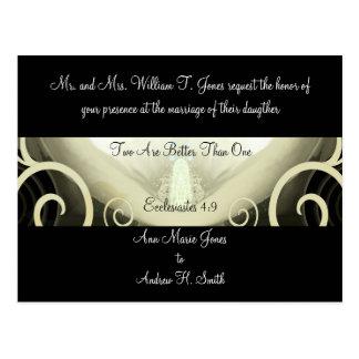 Wedding Invitation Cala Lily Post Card
