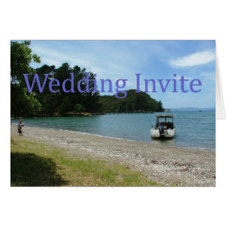Wedding Invitation Greeting Card