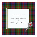 Wedding Invitation Carnegie Family / Clan Tartan