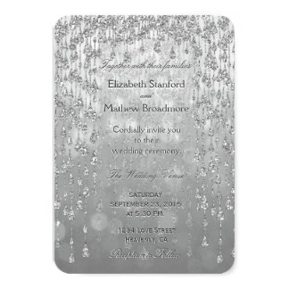 Wedding Invitation | Crystal Palace Ice