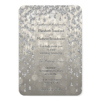 Wedding Invitation | Crystal Palace Warm