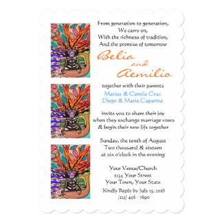 Wedding Invitation Day of Dead Yoga Lotus Mermaid