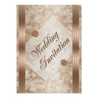 Wedding invitation elegant