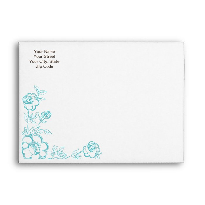 wedding invitation envelope templates matik for With 2 envelopes for wedding invitations