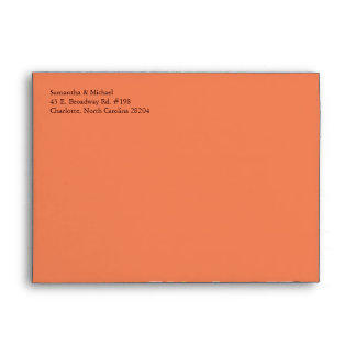 Wedding Invitation Envelope(5.25x7.25) Envelope