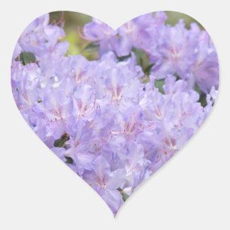Wedding Invitation envelope seals Lavender Floral Heart Sticker