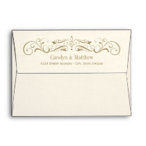Wedding Invitation Envelopes | Antique Flourish