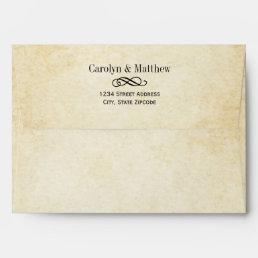 Wedding Invitation Envelopes | Vintage Style