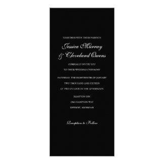 Wedding Invitation Fine Wine blk