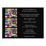 "Wedding Invitation (large rectangle) 6.5"" X 8.75"" Invitation Card"