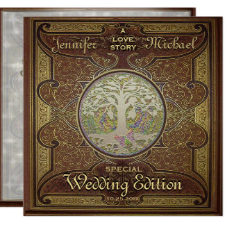 Wedding Invitation - Love Story Romantic