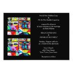 "Wedding Invitation (medium rectangle) 5"" X 7"" Invitation Card"