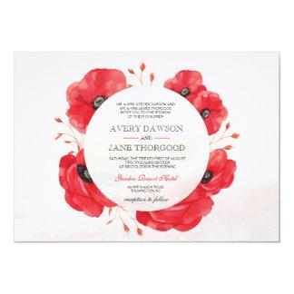 Wedding Invitation - Network Poppies