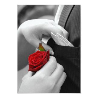 Wedding invitation or announcement