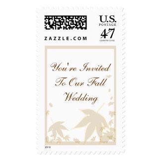 Wedding Invitation Postage Stamp