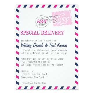Wedding Invitation Postal Service Collection