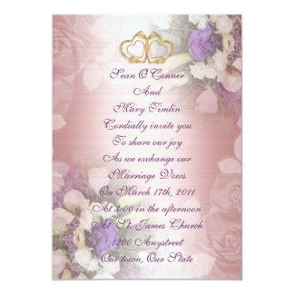 Wedding Invitation romantic floral