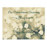 Wedding Invitation Save the Date template card Postcards
