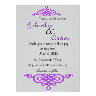 Wedding Invitation Scrolls